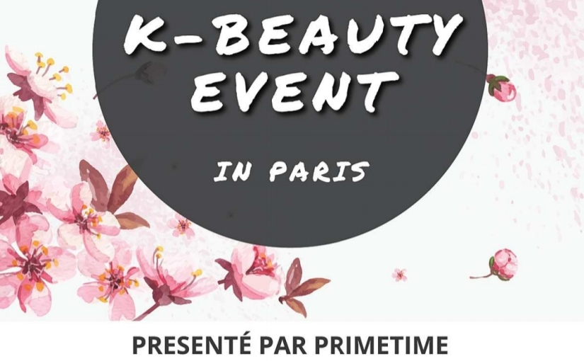 K-Beauty Event à Paris