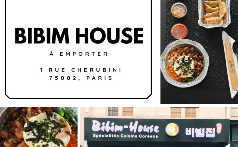 Bibim house 비빔 집 – À emporter(Paris)