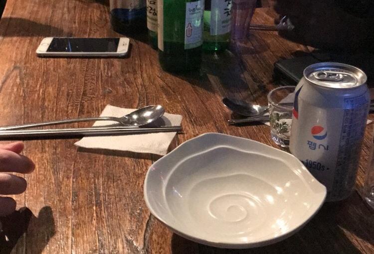 Un «restaurant» pas commun 포자!