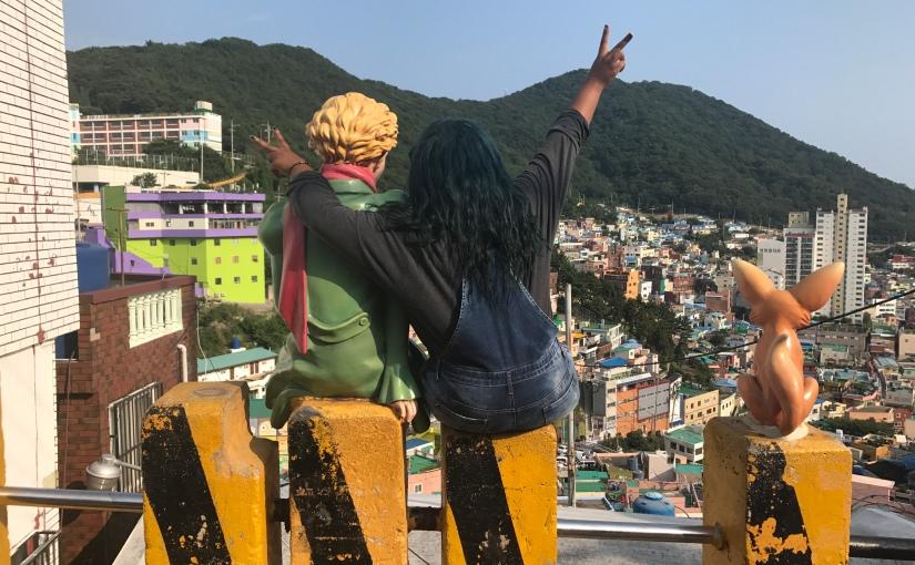 부산에 같이 가요! Let's go to Busan!