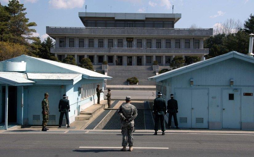 DMZ, Zone coréenne  démilitarisé est la frontière séparant les deuxCorée