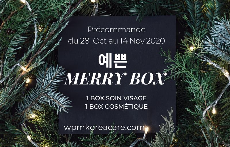 Offrez-vous les 예쁜 Merry box!